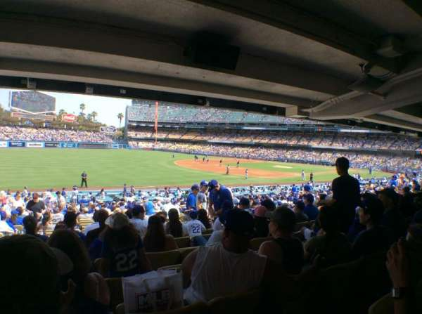 Dodger Stadium, section: 41FD, row: X, seat: 8