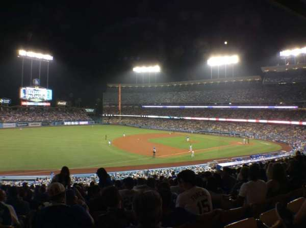 Dodger Stadium, section: 147LG, row: O, seat: 8