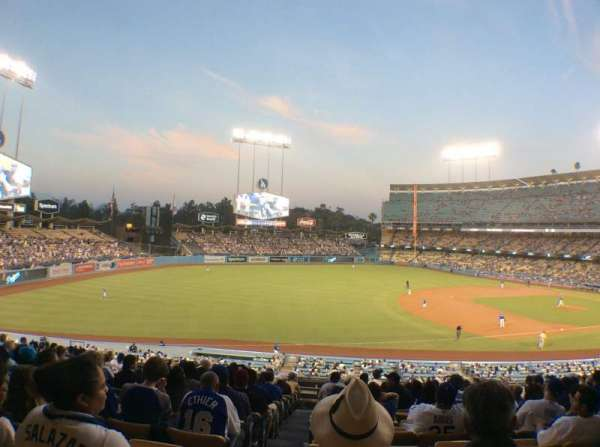 Dodger Stadium, section: 146LG, row: O, seat: 8