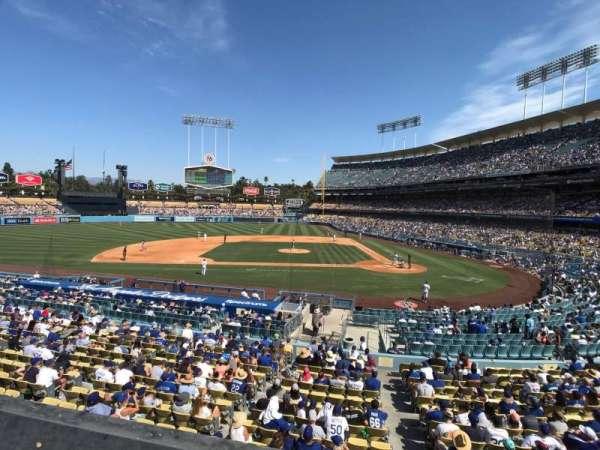 Dodger Stadium, section: 125LG, row: A, seat: 6