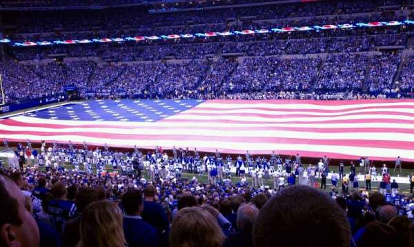 Lucas Oil Stadium, section: 238