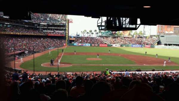 Oracle Park, section: 110, row: 40, seat: 10
