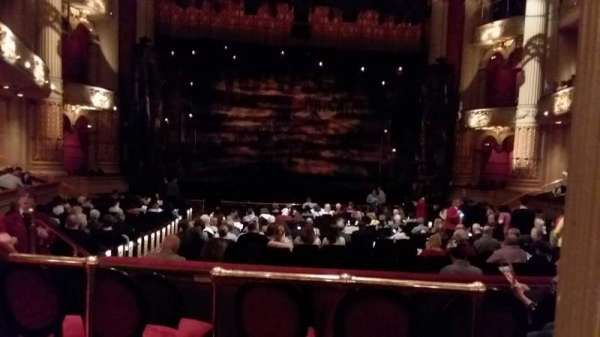 Academy of Music, section: Parquet Circle E, row: V, seat: 112