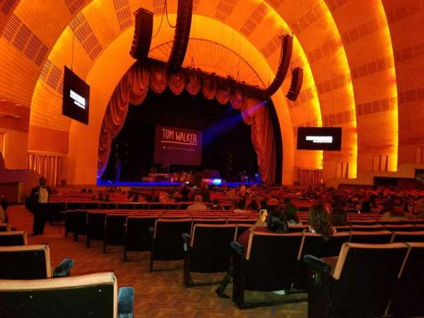 Radio City Music Hall, section: Orchestra 7, row: G, seat: 701.702