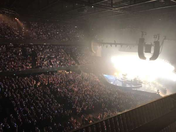 Ziggo Dome, section: 204, row: 1, seat: 99