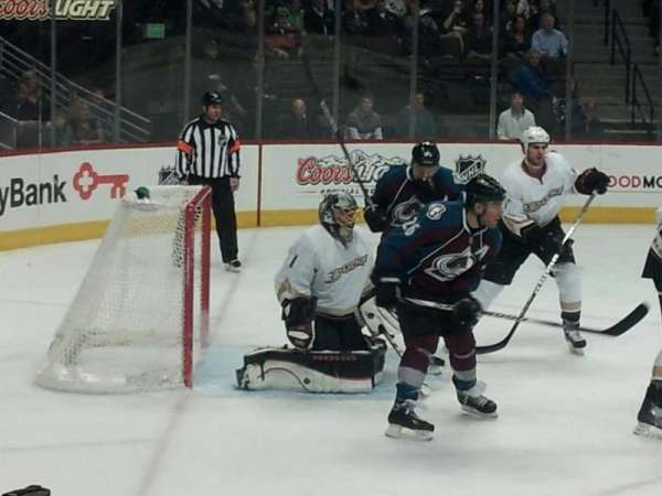 Pepsi Center, section: 130, row: 4, seat: 9