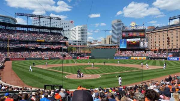 Oriole Park at Camden Yards, section: 34, row: 21, seat: 9