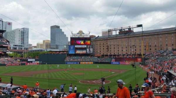 Oriole Park at Camden Yards, section: 38, row: 21, seat: 10