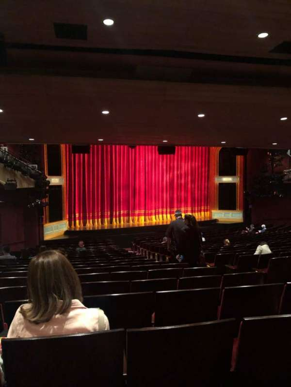 Marquis Theatre, section: Orch L, row: X, seat: 11