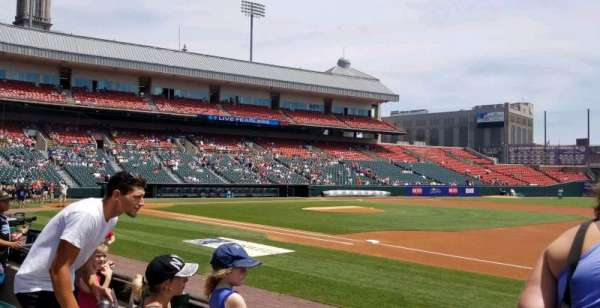 Sahlen Field, section: 116, row: D, seat: 10