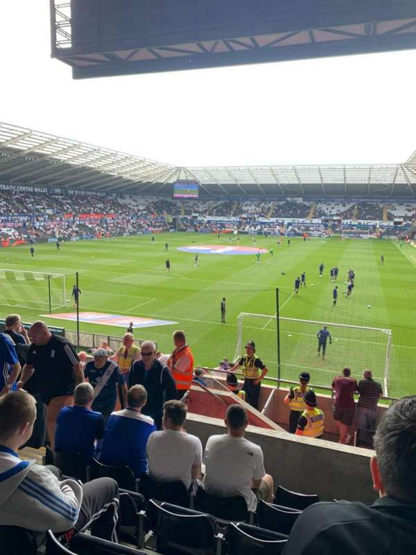 Liberty Stadium, section: North Stand Upper 3, row: P, seat: 51
