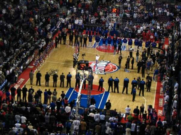 The Palace of Auburn Hills, section: 208