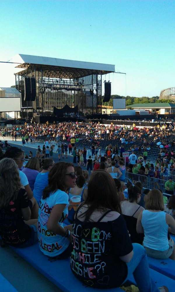 Hershey Park Stadium, section: 5, row: E, seat: 15