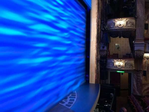 Novello Theatre, section: BOX A, row: 1, seat: 2