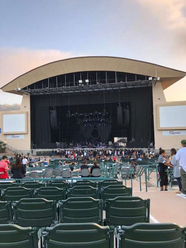 North Island Credit Union Amphitheatre, section: 205, row: H, seat: 17