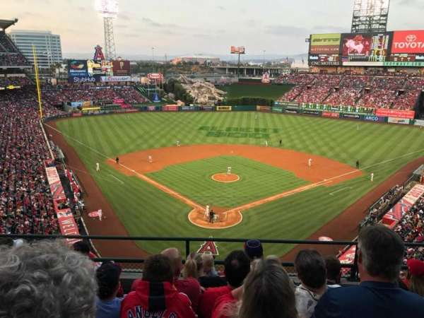 Angel Stadium, section: V419, row: E, seat: 10