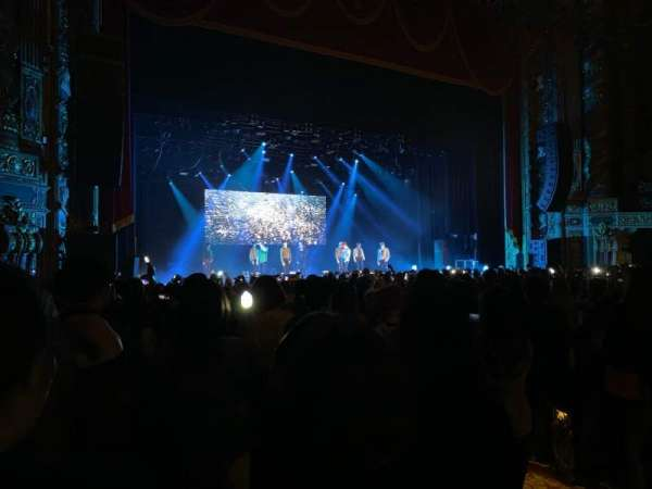 Kings Theatre (Brooklyn), section: 1, row: Q, seat: 9