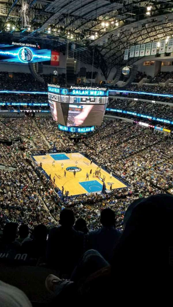 American Airlines Center, section: 320, row: G, seat: 18
