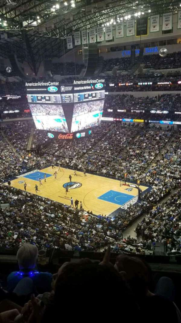 American Airlines Center, section: 323, row: D, seat: 1
