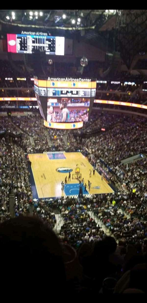 American Airlines Center, section: 302, row: H, seat: 12