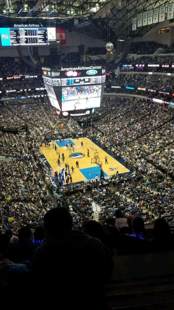American Airlines Center, section: 320, row: H, seat: 4