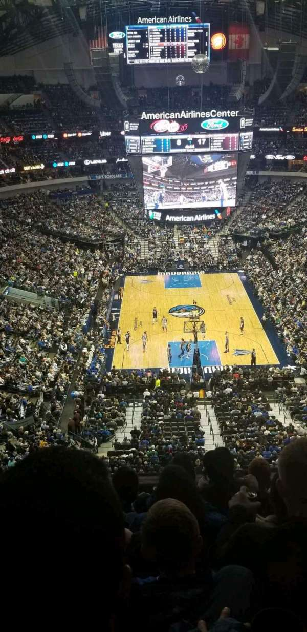 American Airlines Center, section: 318, row: G, seat: 17