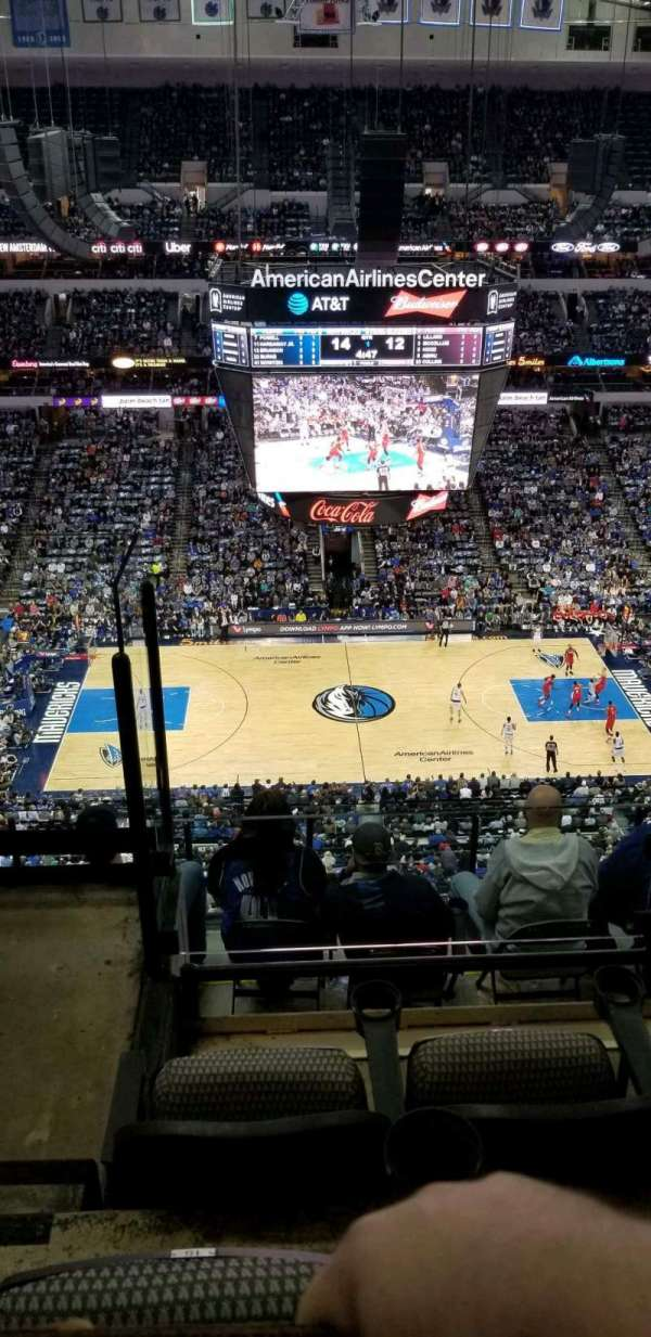 American Airlines Center, section: 310, row: H, seat: 15