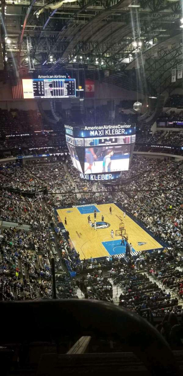 American Airlines Center, section: 320, row: K, seat: 1