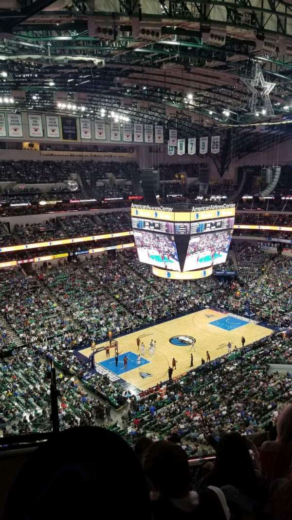 American Airlines Center, section: 330, row: K, seat: 23