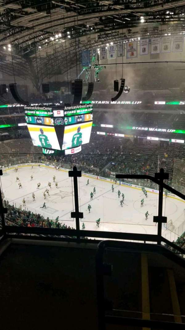 American Airlines Center, section: 305, row: H, seat: 10