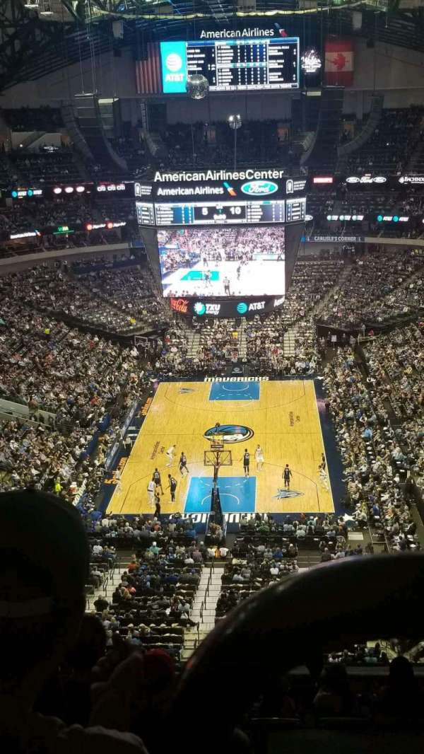 American Airlines Center, section: 318, row: K, seat: 3