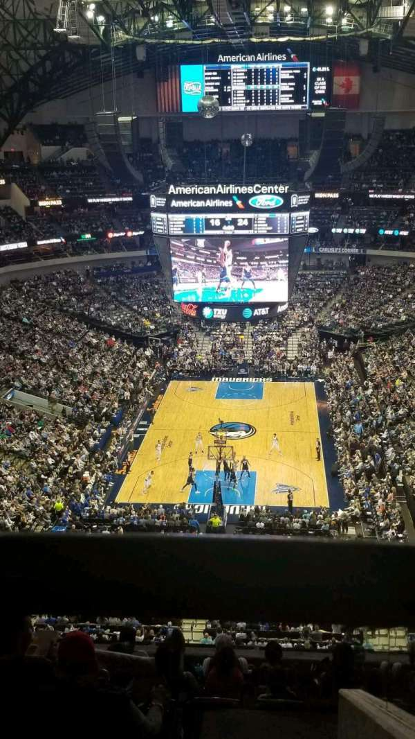 American Airlines Center, section: 318, row: K, seat: 2