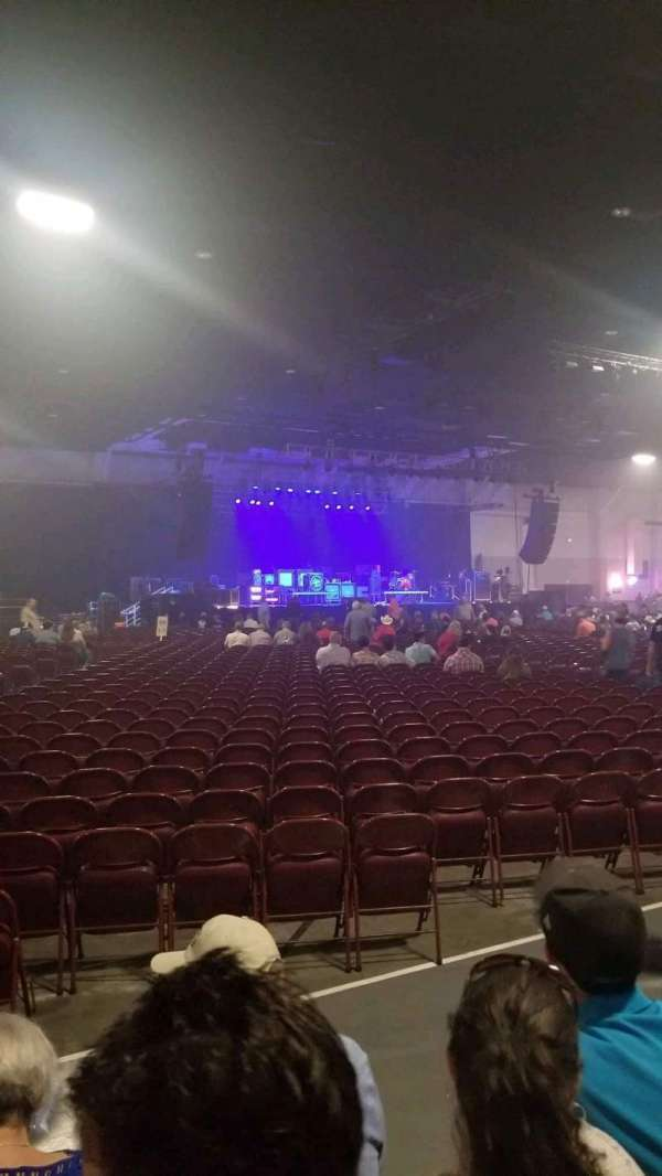 The Oil Palace, section: 25, row: D, seat: 5