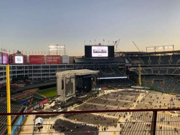 Globe Life Park in Arlington, section: 313, row: 2, seat: 12