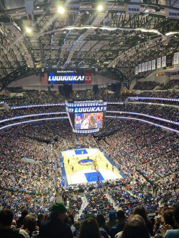 American Airlines Center, section: 319, row: K, seat: 11
