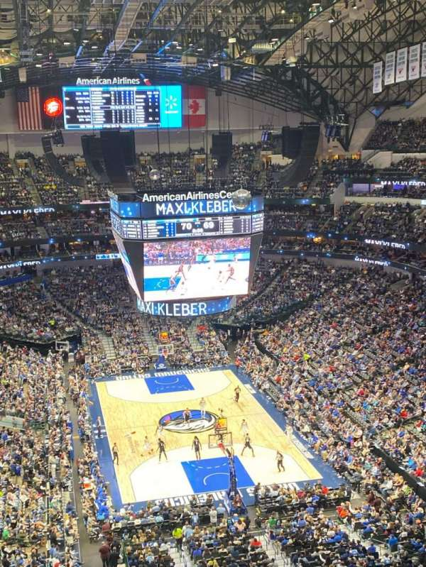 American Airlines Center, section: 319, row: K, seat: 12