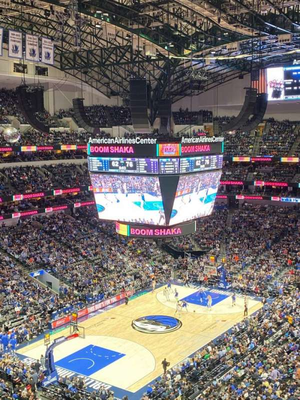 American Airlines Center, section: 315, row: E, seat: 1
