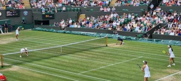 Wimbledon, Court No. 1, section: 22, row: J, seat: 195