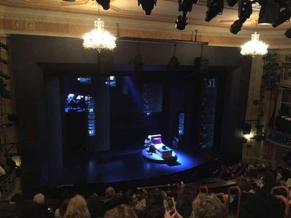 Music Box Theatre, section: Mezzanine L, row: H, seat: 11