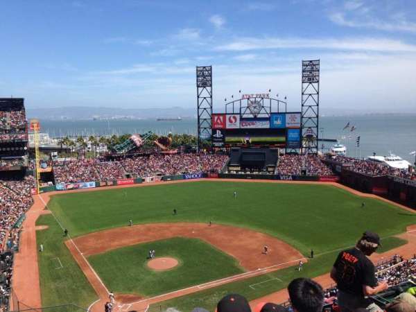 AT&T Park, section: 312, row: 7, seat: 17