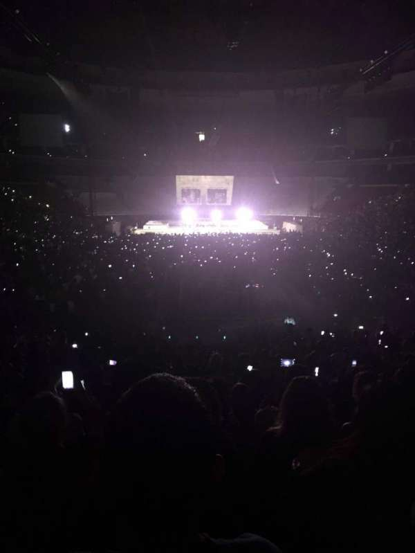 Wells Fargo Center, section: 107, row: 19, seat: 2