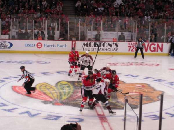 United Center, section: 101, row: 13, seat: 2