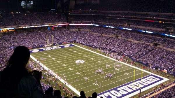 Lucas Oil Stadium, section: 631, row: 16, seat: 5