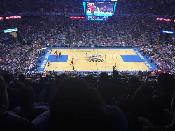 Chesapeake Energy Arena, section: 324, row: H, seat: 11