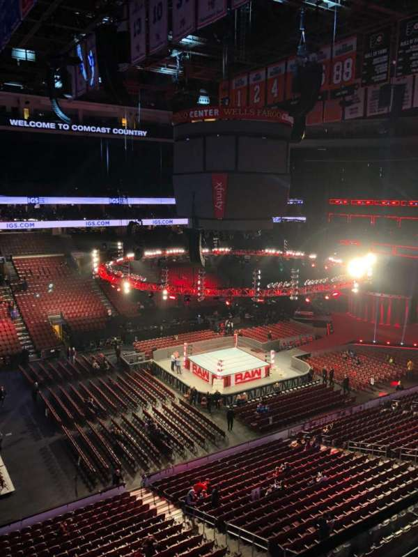 Wells Fargo Center, section: 211, row: 1, seat: 5