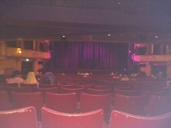 Birmingham Hippodrome, section: Rear Stalls, row: X, seat: 32
