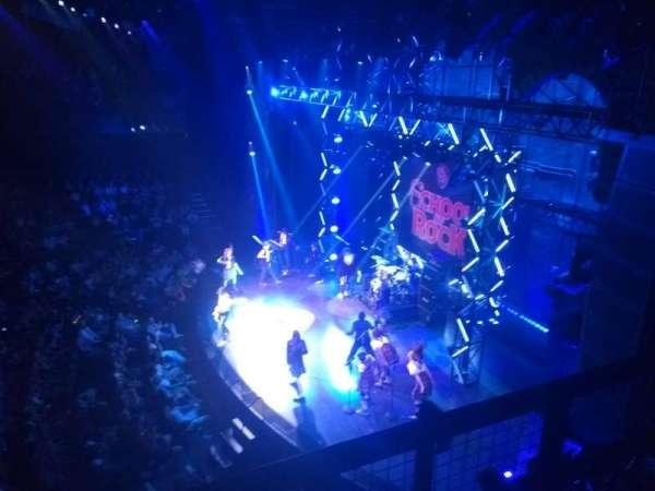 Gillian Lynne Theatre, section: Dress Circle, row: B, seat: 9