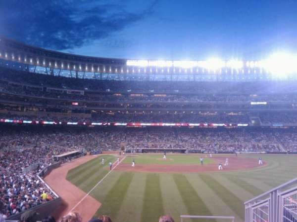 Target Field, section: 139, row: 4, seat: 11