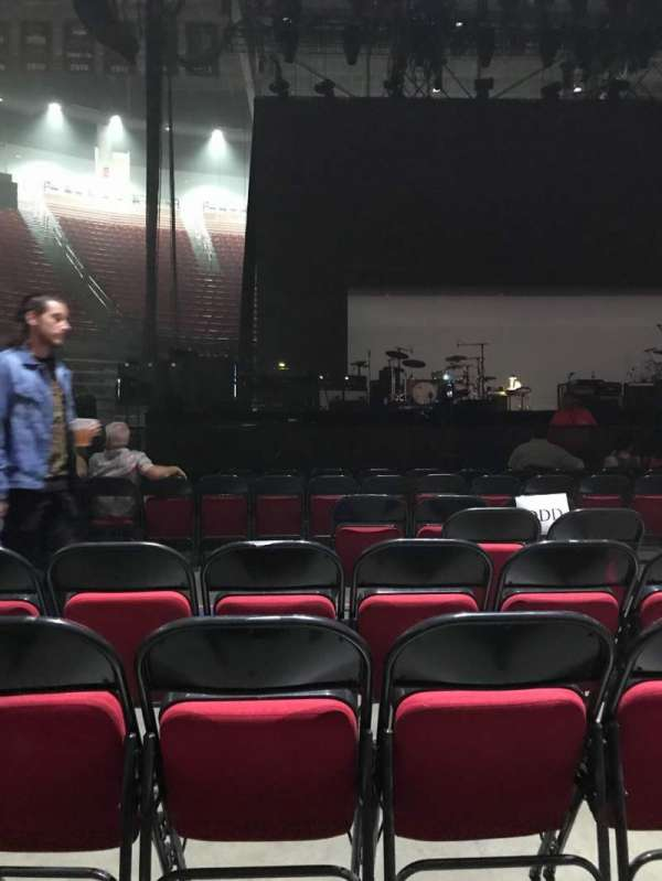 Viejas Arena, section: Floor DDD, row: 6, seat: 4
