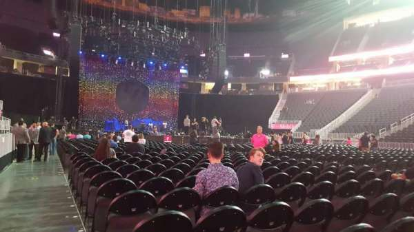 T-Mobile Arena, section: Floor J, row: M, seat: 1 and 2